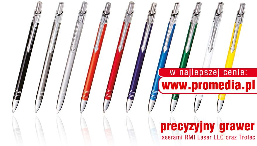 Kolorystyka długopisów BOND