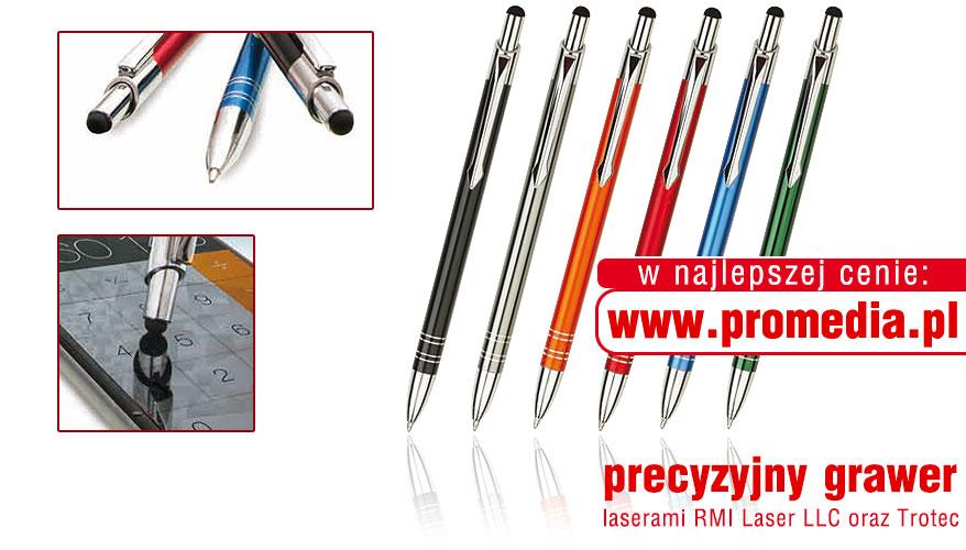Kolorystyka długopisów BOND Touch Pen