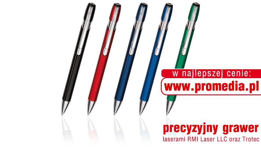 Kolorystyka długopisów GENIUS