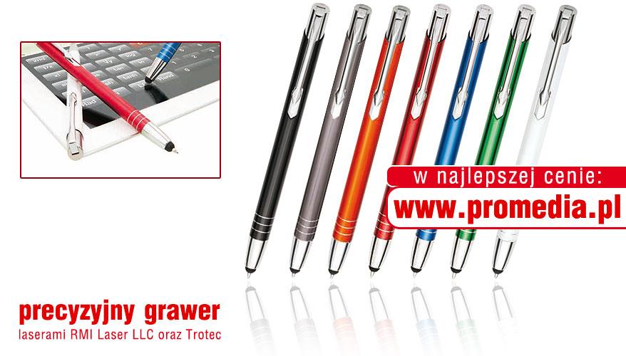 Kolorystyka długopisów MOOI Touch Pen