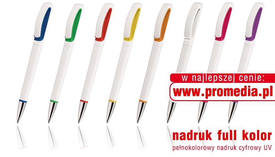 Kolorystyka długopisów TEK