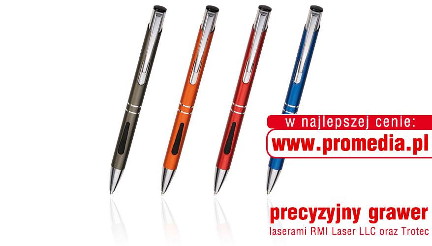 Kolorystyka długopisów TRENDY