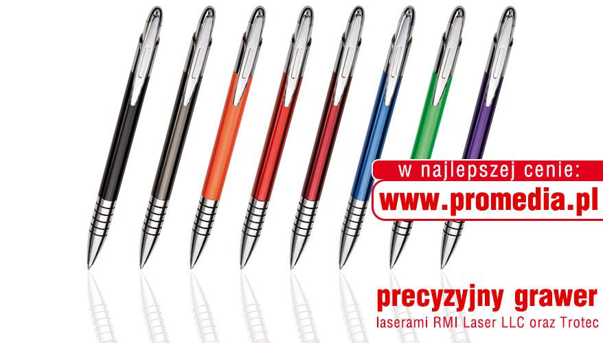Kolorystyka długopisów ZEN