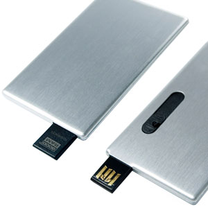 Pendrive ALU CARD z grawerem